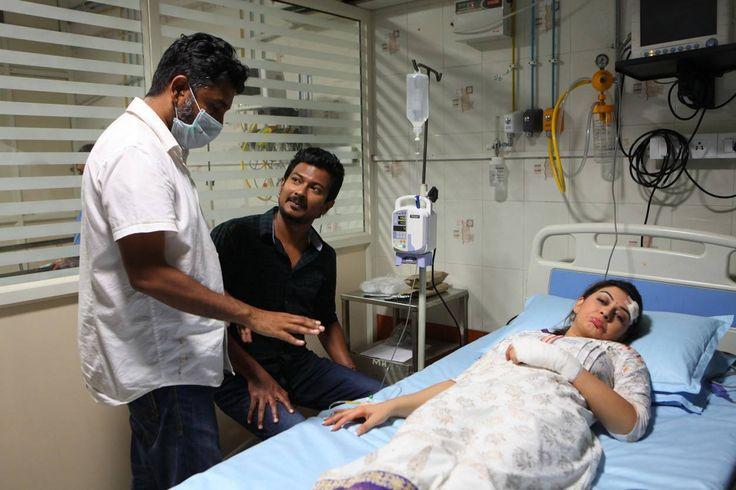 Udhayanidhi Stalin's Manithan movie working stills