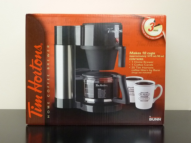Tim Hortons Coffee Maker by Bunn - Fastest coffee maker in the north... Love mine! TIM HORTONS