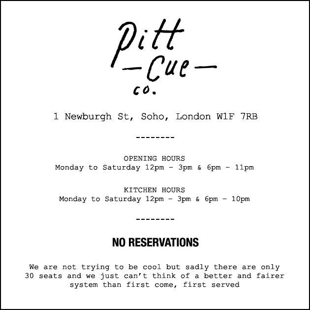 Pitt Cue Co, Soho