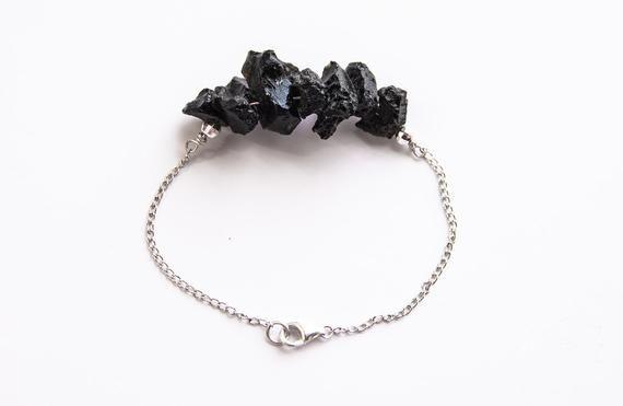 Moldavite Bracelet Rough