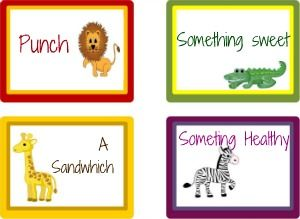 Free printable food labels - designed by Sarit Bronstein - Use them enjoy them!!!