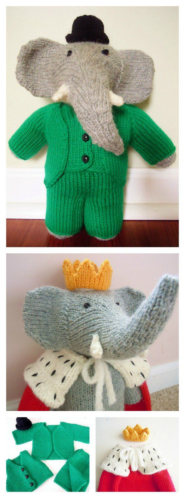 Knitting Pattern Toy Elephant : 17 Best images about Knitting on Pinterest Free pattern, Ankle socks and Shawl