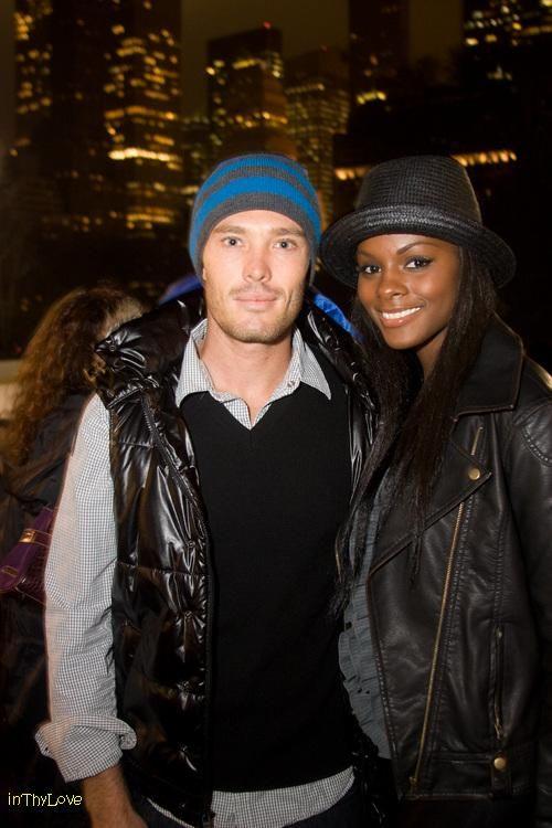 Federico Pilurzu & Tika Sumpter ~ Beautiful interracial couple #love #wmbw #bwwm