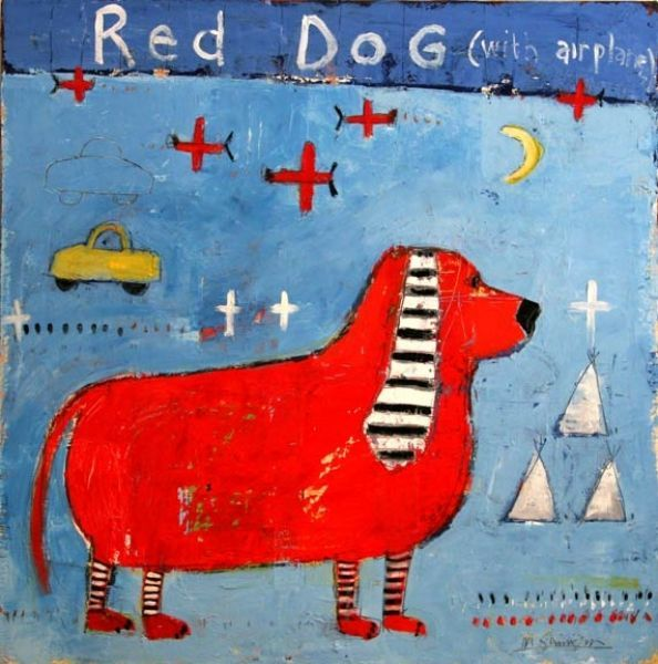 Red Dog © Mary Scrimgeour
