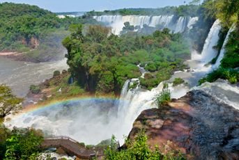 Iguazu falls- been there, this picture does not do it justice at all