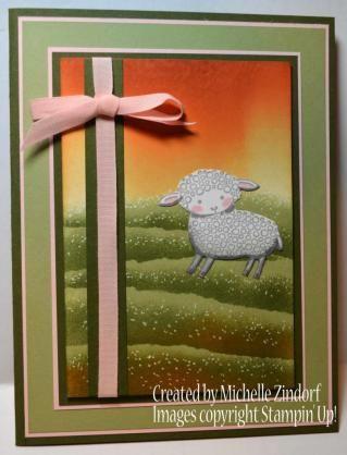 Little Lamb – Stampin' Up! Card | zindorf.blogs.splitcoaststampers.com | Bloglovin'