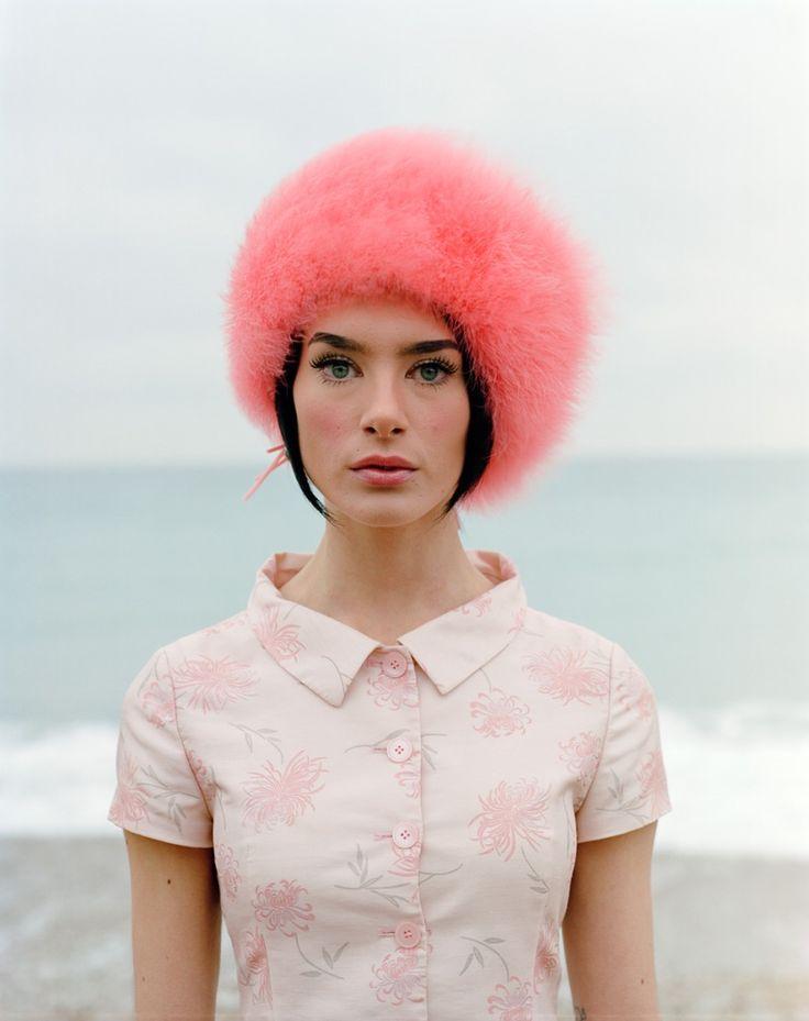 fuzzy pink chapeaux
