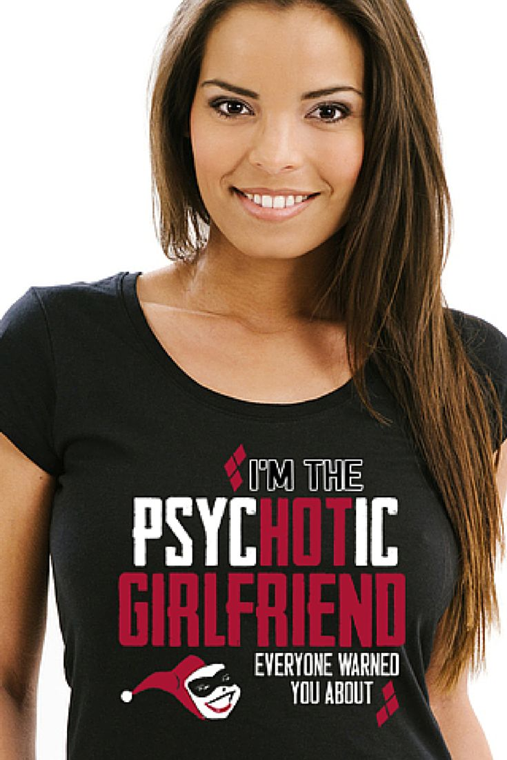 Psychotic Girlfriend | Tee Shirt Galaxy | Harley Quinn | Joker | Batman |