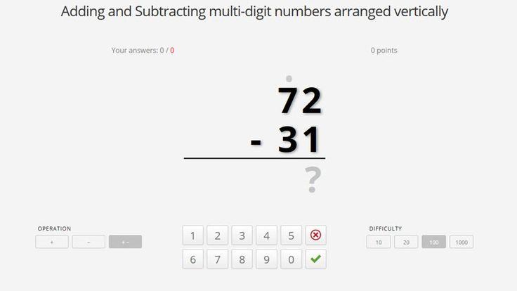 Sumas, restas, multiplicaciones y divisiones, problemas con números: 10, 20 y 100. Juegos matemáticos para nivel básico. Practica tus habilidades matemáticas. Tablas de multiplicación listas para imprimir.