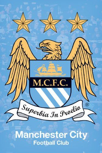 SPT36579 Manchester City Club Crest 24X36
