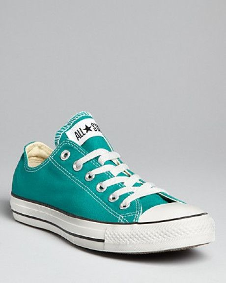 converse sneakers | Converse Sneakers All Star Lace Up in Green (parasailing teal) - Lyst