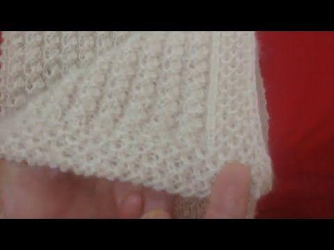 Şiş İle Gelin Yeleği Lastik Yapılışı - YouTube