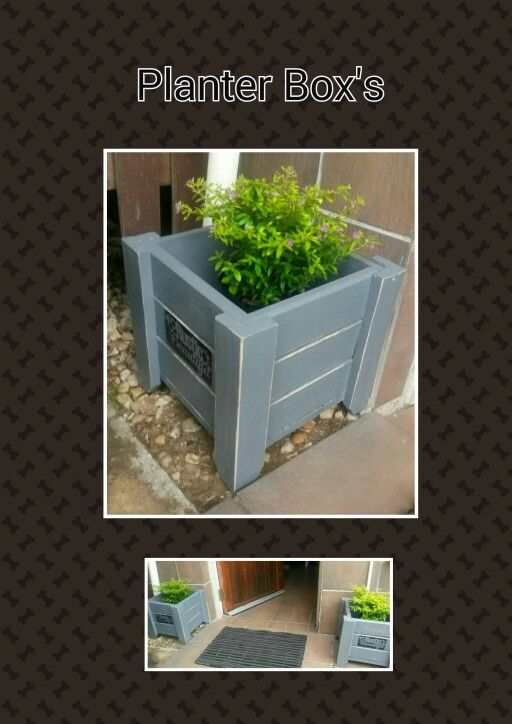 Planter Boxes  (Made by: Shane Ikin)