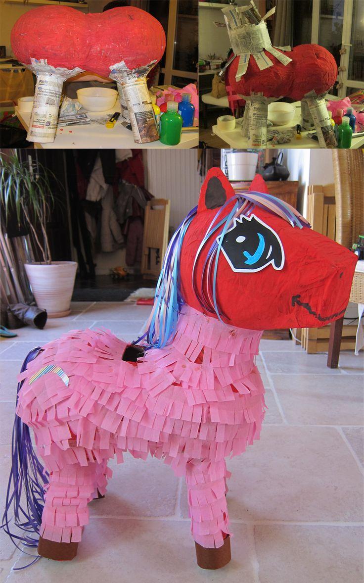 Pinata thème Mon Petit Poney. Pinata My Little Pony.
