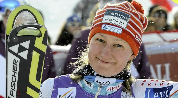 Tanja Poutiainen, former alpine skier from Finland