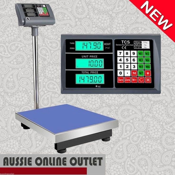 Electronic Digital Platform Scale Computing Shop Postal Scales Weight 150kg