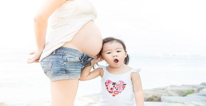 El segundo embarazo se vive de manera distinta, sin tanto libro, un poco más relajada porque &qu...