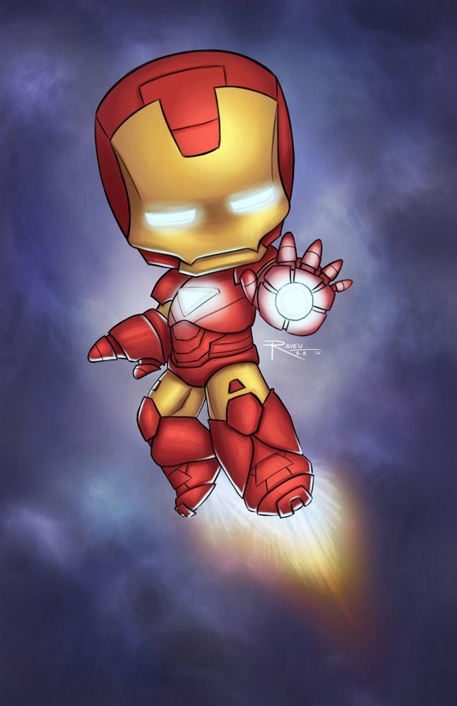 Bueno lo prometido es deuda, espero les guste. Iron Man Chibi Photoshop CS3