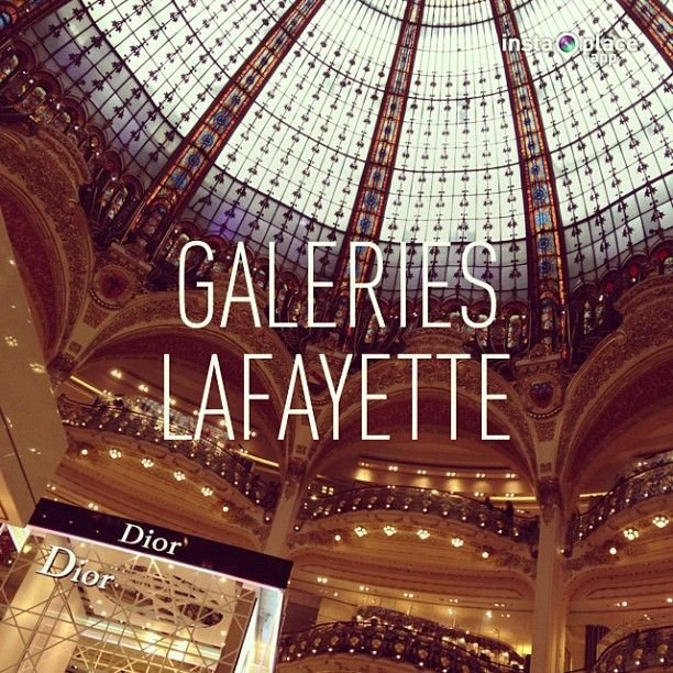 For your shopping, come and see all the french luxury brand reunited in one huge place : Galeries Lafayette Haussmann at  40, Boulevard Haussmann 75009 PARIS // if you have any interrogation call  +33 (0)1.42.82.34.56 // Opening hours: Monday to Saturday from 09:30am to 8:00pm, especially on Thursdays it is open until 9:00 ! // Metro:Chaussée d'Antin La Fayette