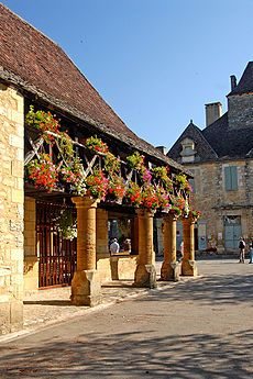 Bastide - Wikipedia Ook Buren is een bastidestadje.