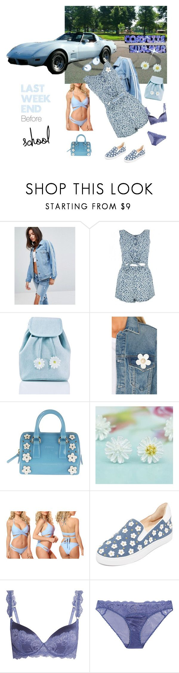 """""""Corvette Summer"""" by cinpet ❤ liked on Polyvore featuring Daisy Street, Sugarbaby, Marc Jacobs, Furla, Dippin' Daisy's, Isa Tapia, STELLA McCARTNEY and RetroSuperFuture"""