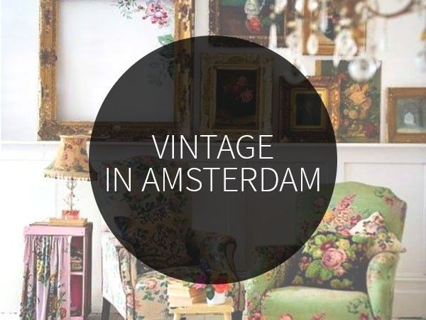 Vintage shops in Amsterdam