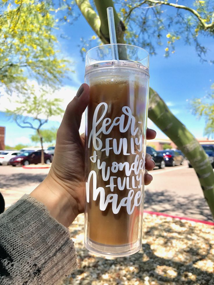 Fearfully & Wonderfully Made Iced Tumbler