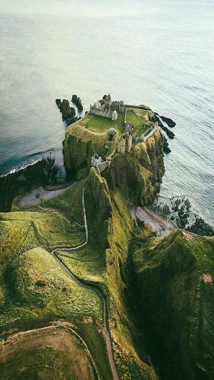 Mariam salvò nel castello scandinavo di Dunnott, in Scozia
