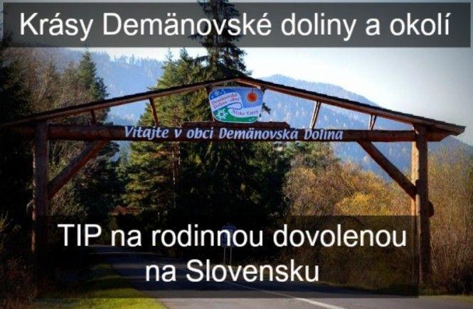 Krásy Demänovské doliny a okolí