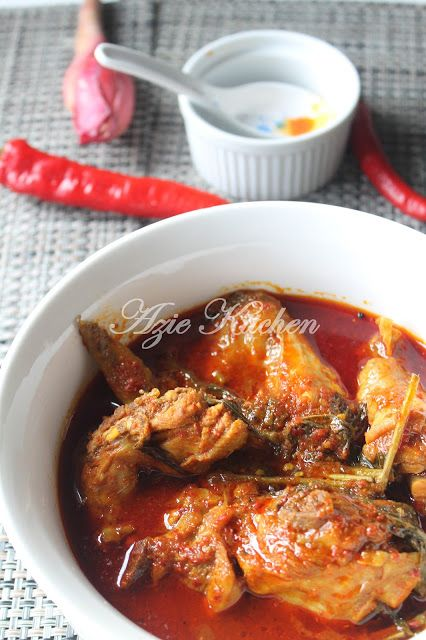 Azie Kitchen: Masak Asam Pedas Ayam