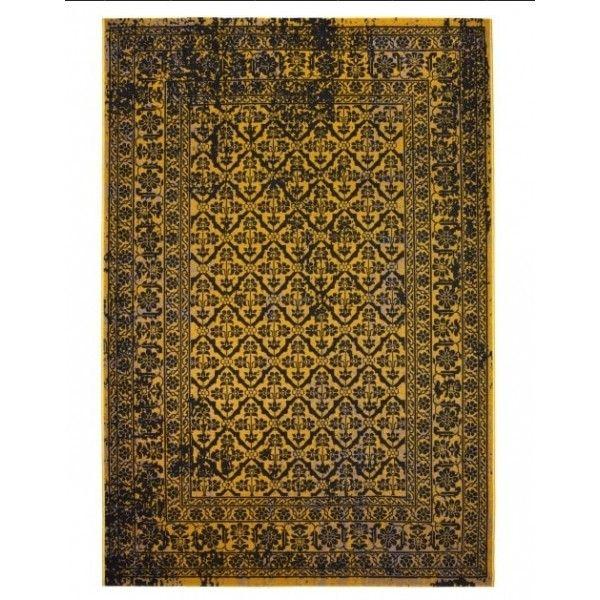 alfombra Persis II amarilla | Tiendas On