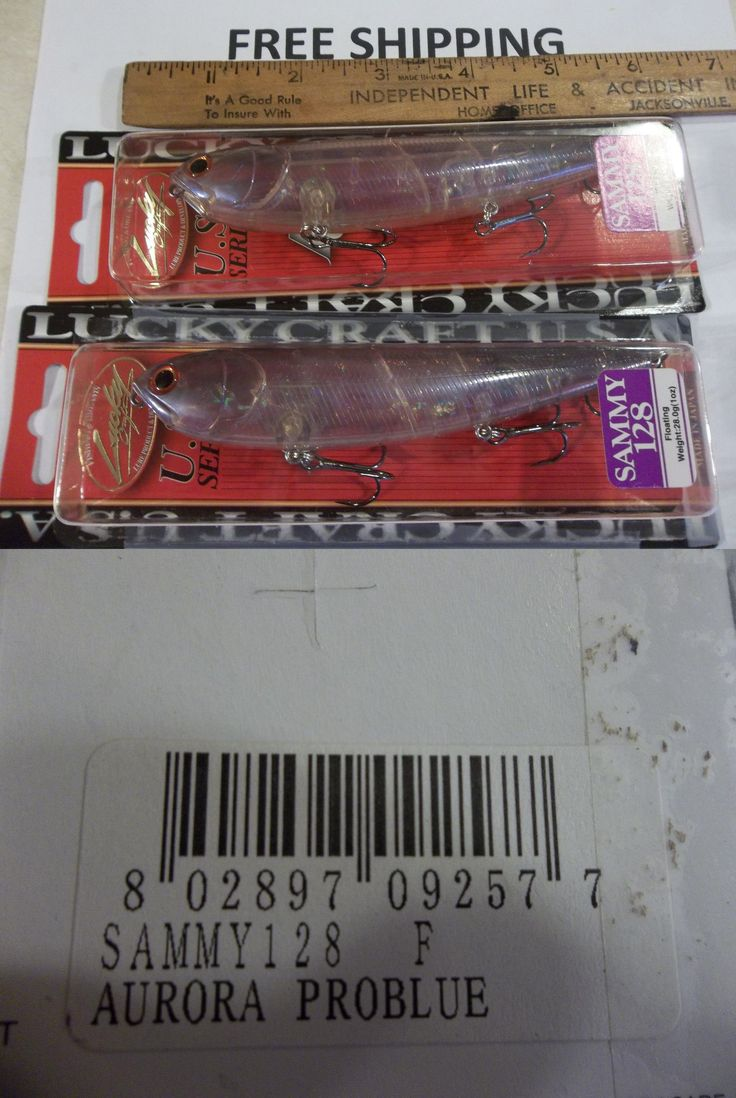 Lucky craft rc 2 5 - Topwater 108161 Lot Of 2 Lucky Craft Sammy 128 Topwater 5 Aurora Problue Color Fishing