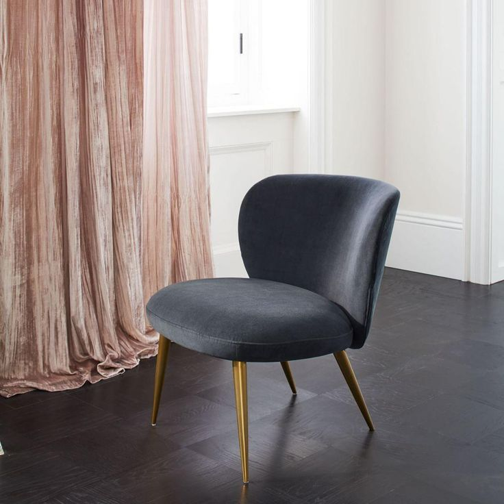 Crinkle Velvet Curtain + Blackout Lining