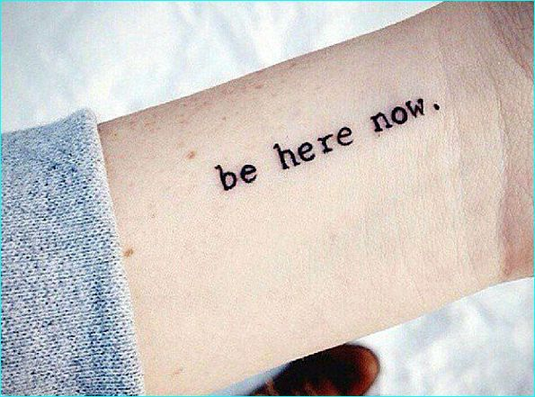 25 Stimulating Written Tattoos For Women