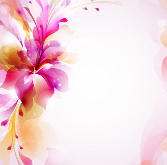 Free Ppt Backgrounds Desktop Wallpaper Flower Pink Lotus: XOO Plate :: Delicate Pink Sunlit Floral Abstract