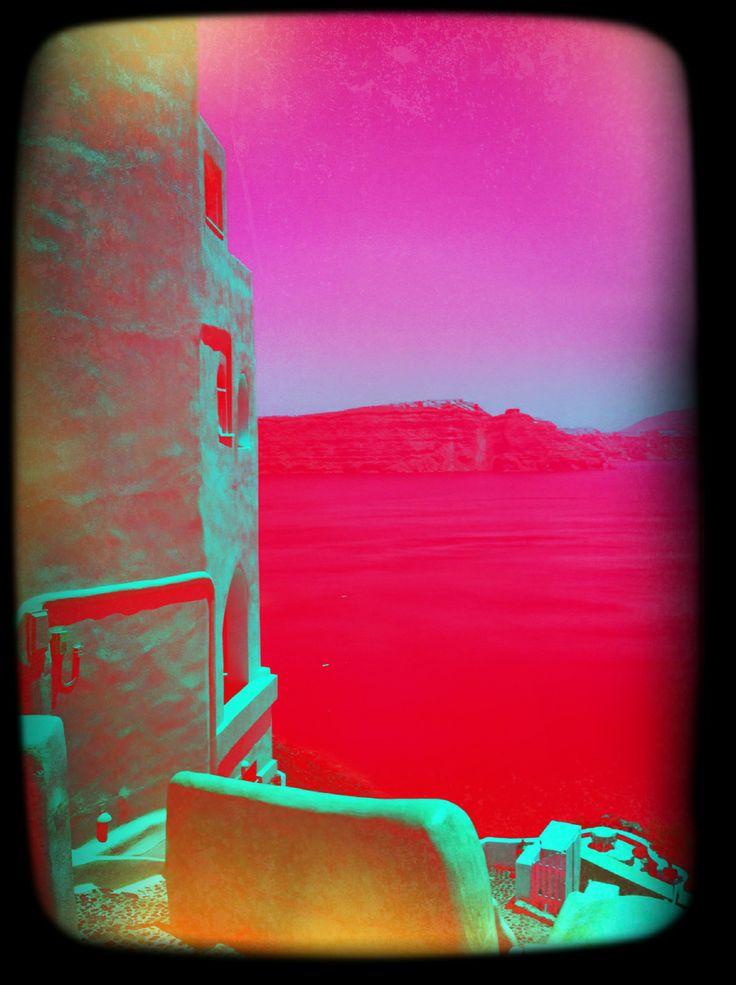 Santorini - red