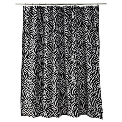 """Target Home™ Shower Curtain - Zebra Print (72x72"""").Opens in a new window"""