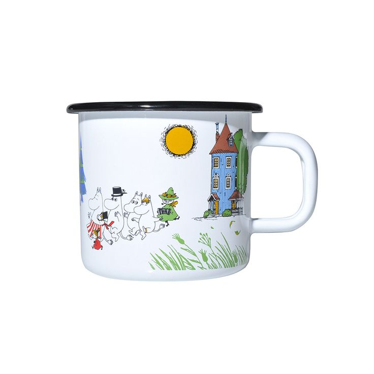 Discover the Muurla Moomin Colours Mug - Moomin Valley at Amara