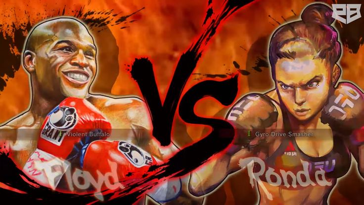 Modder Makes Mayweather & Ronda Rousey Fight In Street Fighter - http://wp.me/p67gP6-3iP