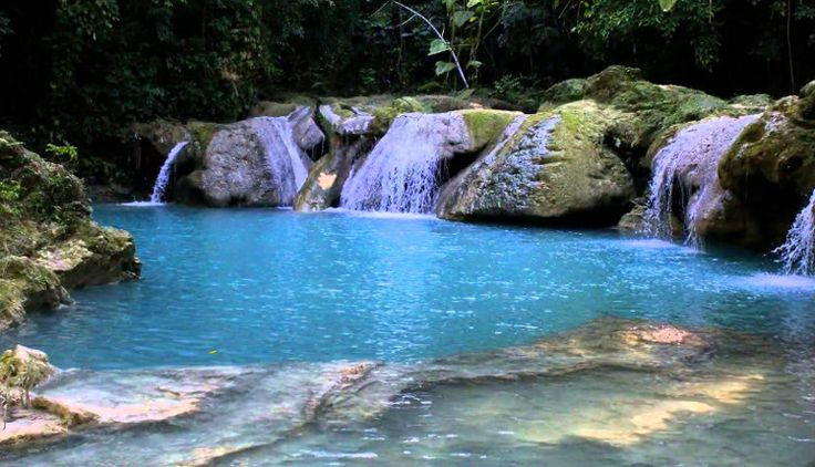 #Blue #Hole #Jamaica is one of Ocho Rios's hidden gems.