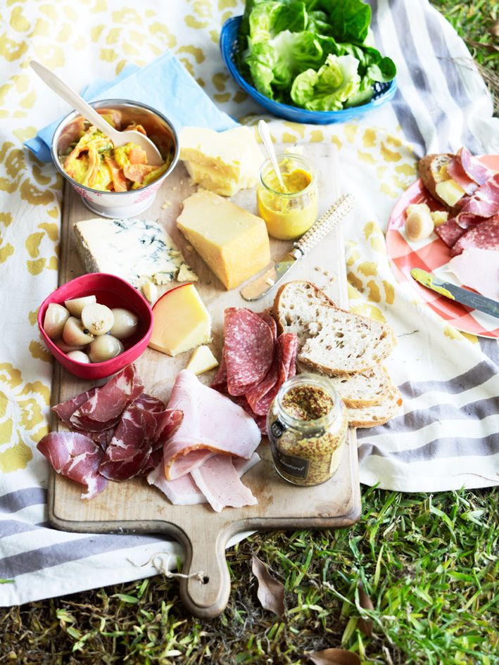 Ploughman's platter with piccalilli