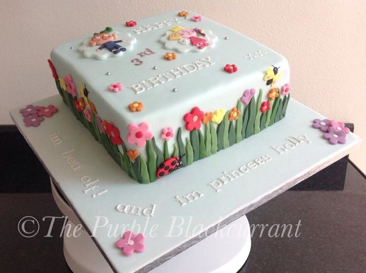 Ben & Hollys Little Kingdom themed cake for a very special little girl