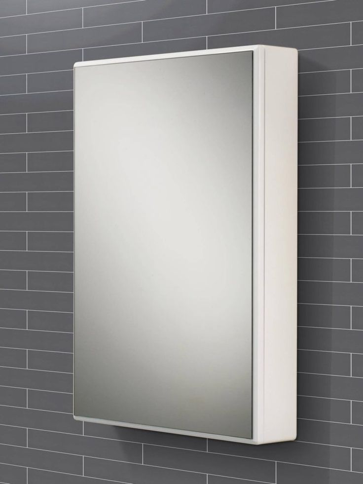 Swivel Mirror Door Bathroom Cabinet