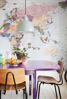 Purple map