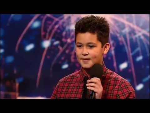 Simon Cowell Humiliates a 12 Year Old Boy...Simon may of been hard on this young man but the kid was talent enough to try a different song and earn Simon's approval