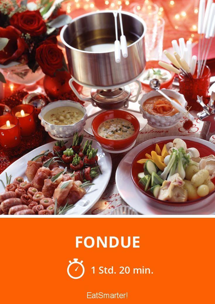 Fondue - smarter - Zeit: 1 Std. 20 Min. | eatsmarter.de
