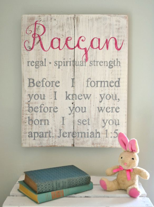 Babies name with the meaning over scripture Kaiylyn: Multi-talented, Intuitive, Idealistic, Independent, perfection! I like the scripture but not the name