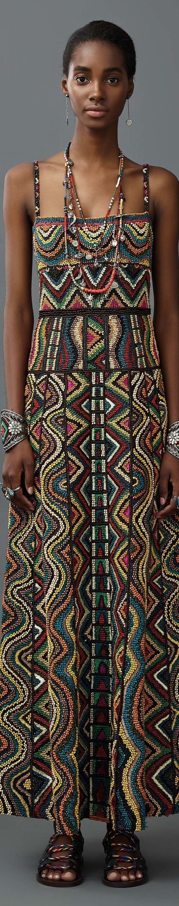 Valentino resort 2017 -- See more beaded fabrics here: www.bandjfabrics.com/search/node/bead