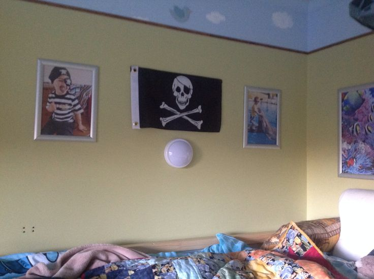 Octonauts Themed Bedroom With Pirate Flag From Nauticalia