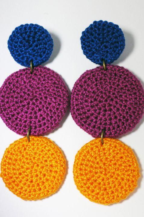 Szines fülbevaló by http://www.breslo.hu/Solya/shop